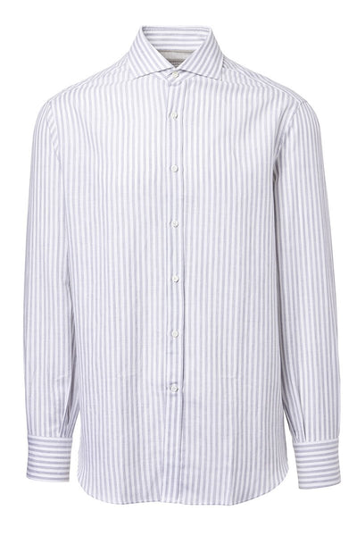Brunello Cucinelli, Striped Sportshirt