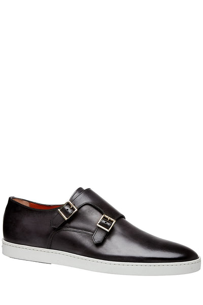 Santoni, Freemont Double Strap Monk Sneakers
