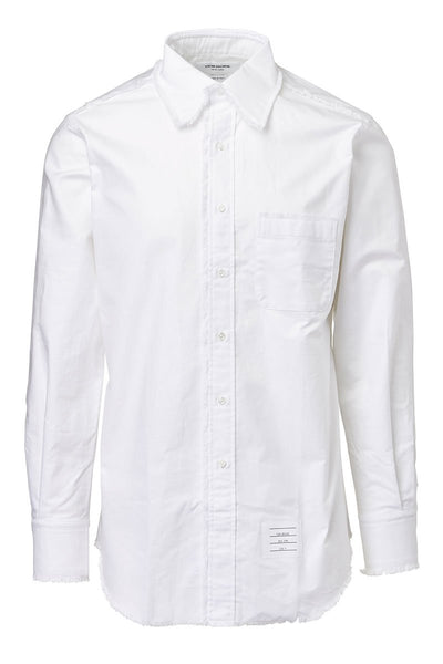 Thom Browne, Frayed Oxford Shirt