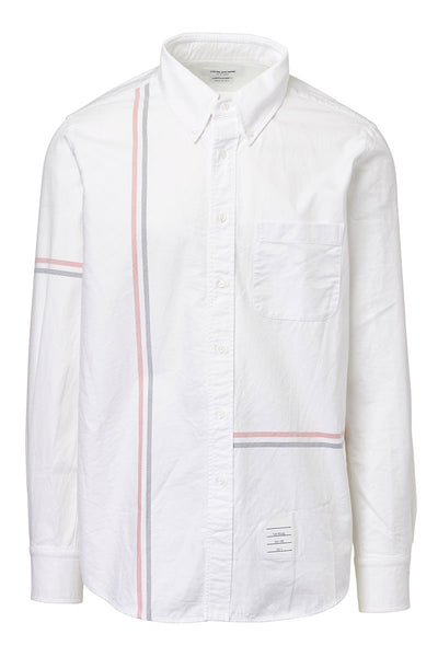 Thom Browne, RWB Stripe Oxford Sportshirt