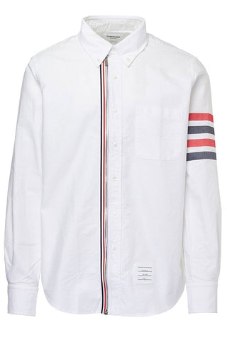 Thom Browne, 4-Bar Zip Oxford