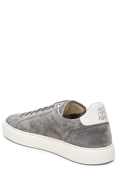 Washed Suede Sneakers