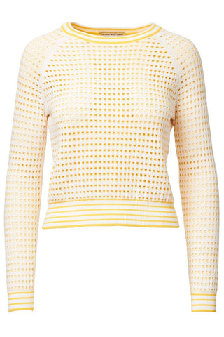 Autumn Cashmere, Grid Stitch Sweater