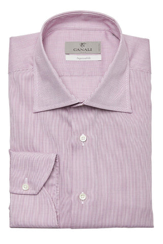 Canali, Impeccabile Crosshatch Dress Shirt