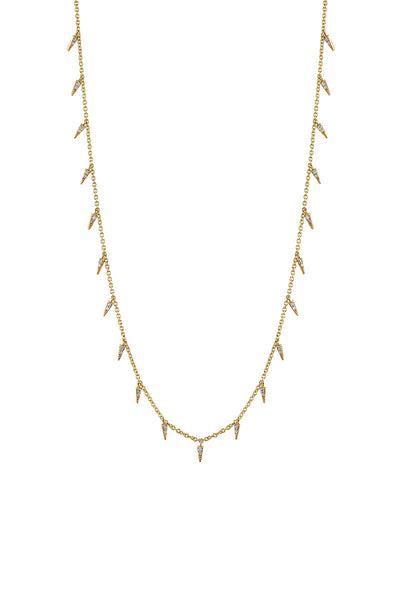 Sydney Evan, Fringe Drop Necklace