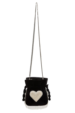 Nano Trilly Disco Heart Crossbody