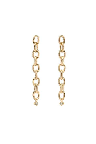 Zoë Chicco, Huggie Hoops Link Earrings