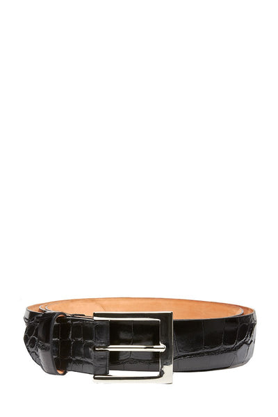 w.kleinberg, Glazed Alligator Belt