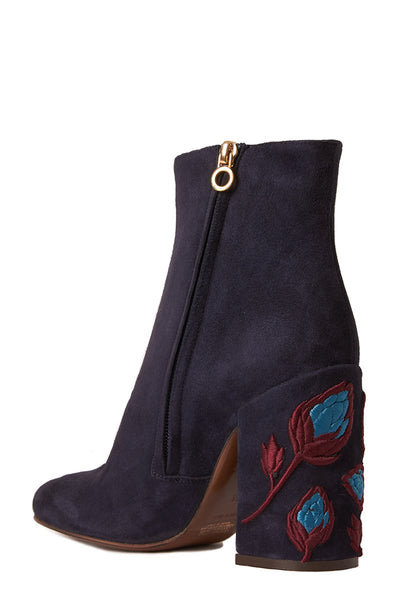 L'Autre Chose, Embellished Suede Booties