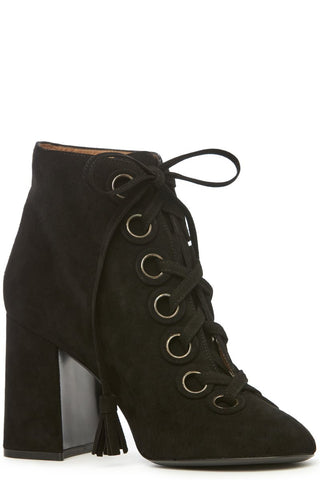 Paddle Lace-Up Booties