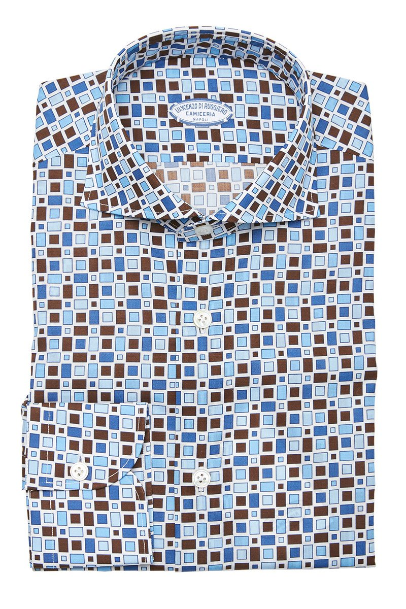 Vincenzo Di Ruggiero, Geometric Square Shirt