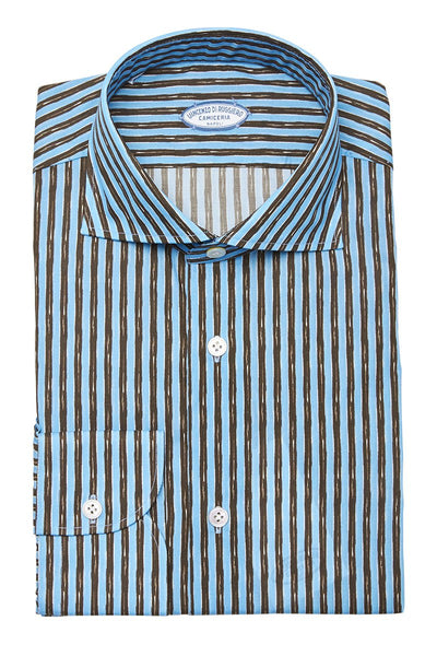 Vincenzo Di Ruggiero, Chalk Stripe Shirt