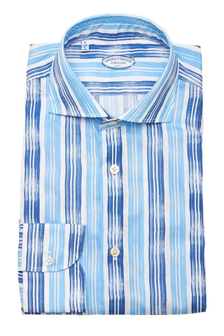 Vincenzo Di Ruggiero, Multi-Track Stripe Shirt