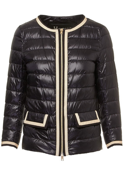 Herno, Grosgrain Trim Jacket