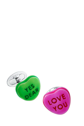 Candy Heart Cufflinks