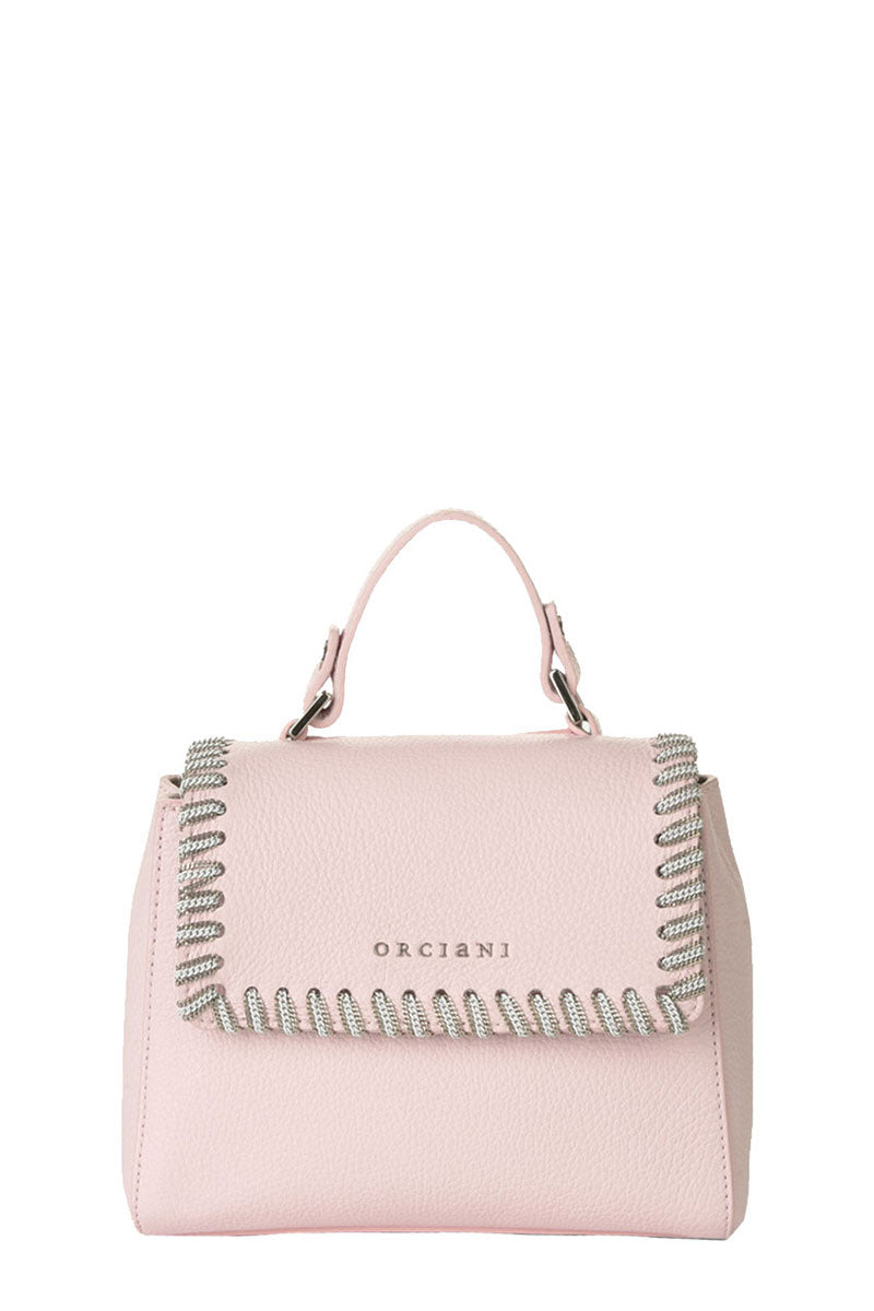 Orciani, Mini Sveva Chain Handbag