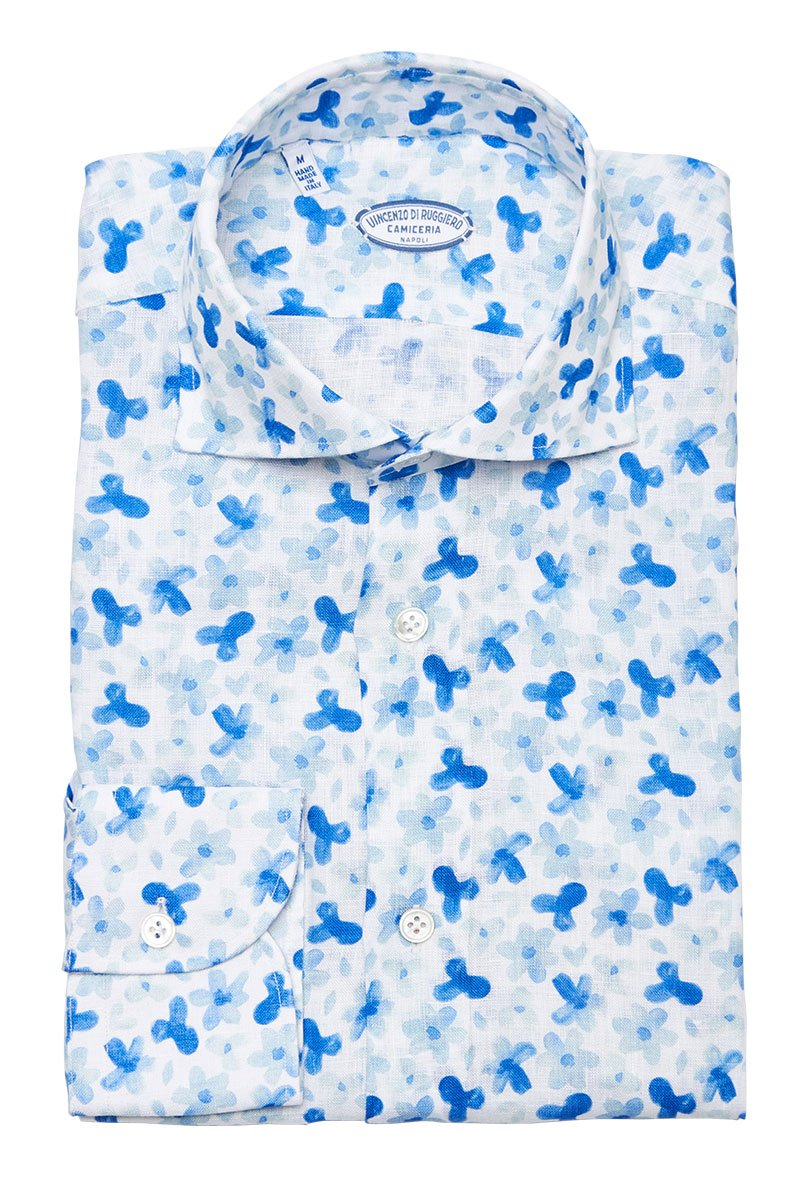 Vincenzo Di Ruggiero, Whimsy Floral Shirt