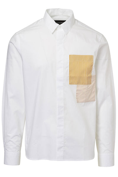 P.L.C., Chest Patch Shirt