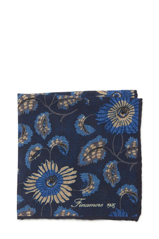 Finamore, Floral Pocket Square
