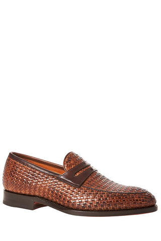Bontoni, Principe Intreacciato Woven Loafers
