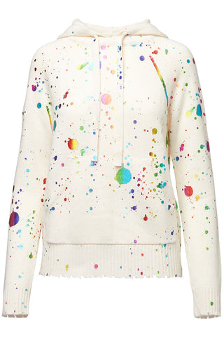Threads of PRVLG, Metallic Splatter Sweater