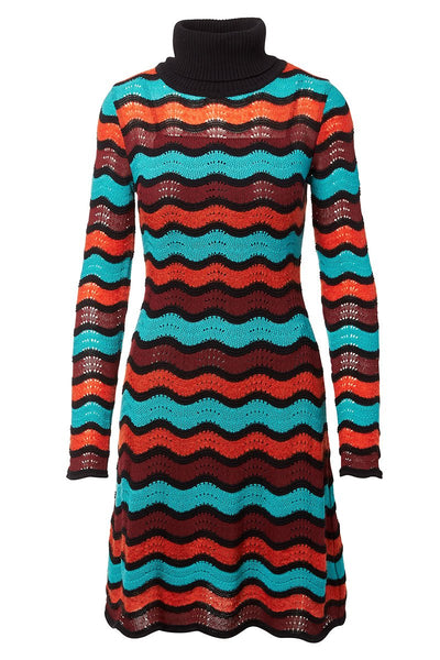 Ripple Knit Dress