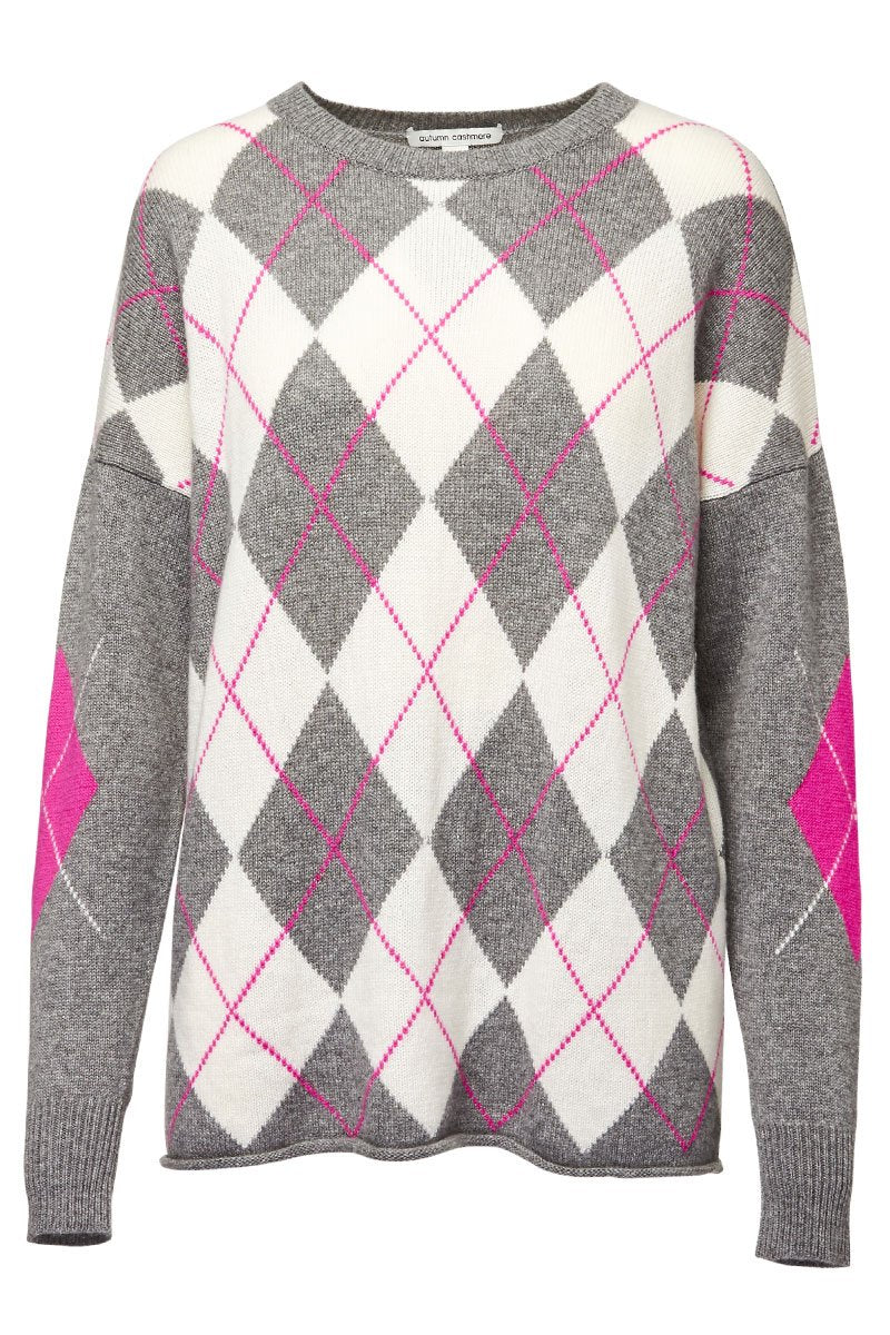 Autumn Cashmere, Argyle Sweater