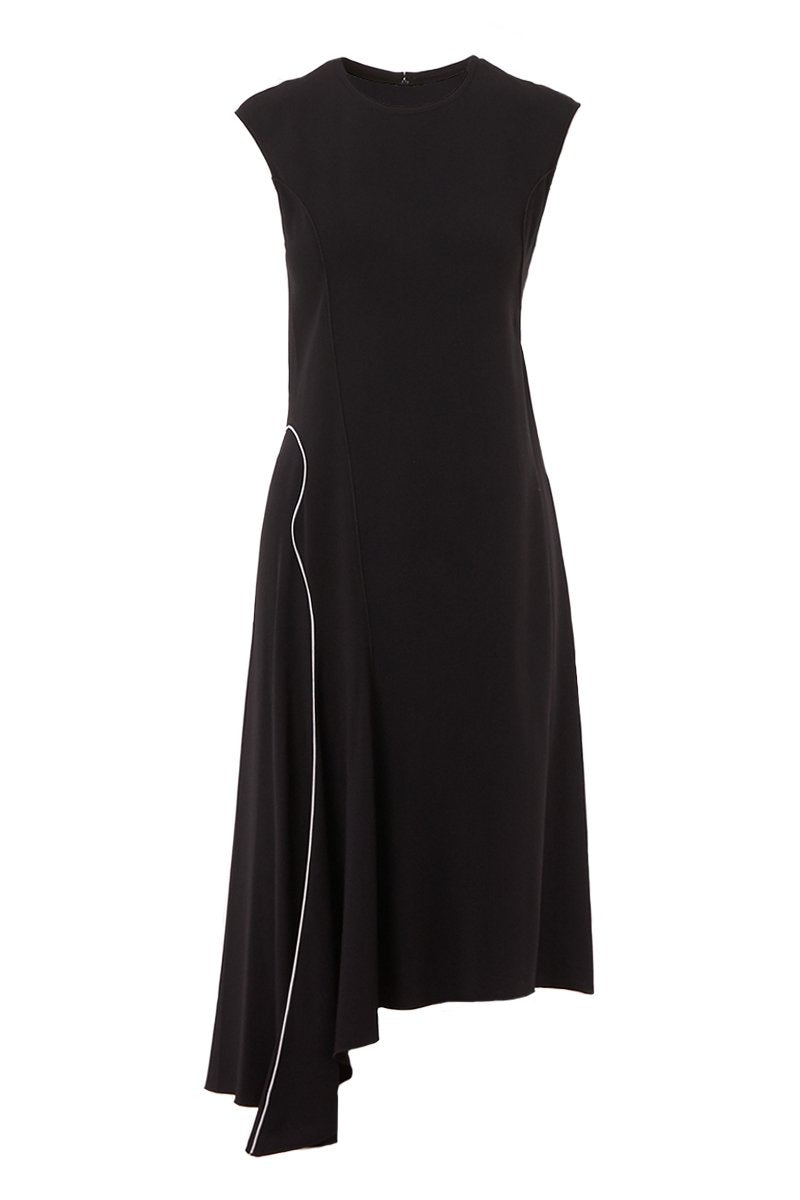 Asymmetrical Hemmed Dress