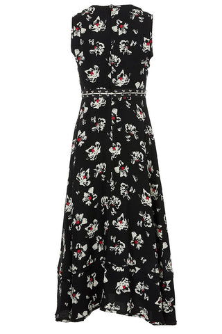 Convertible Hook & Eye Midi Dress