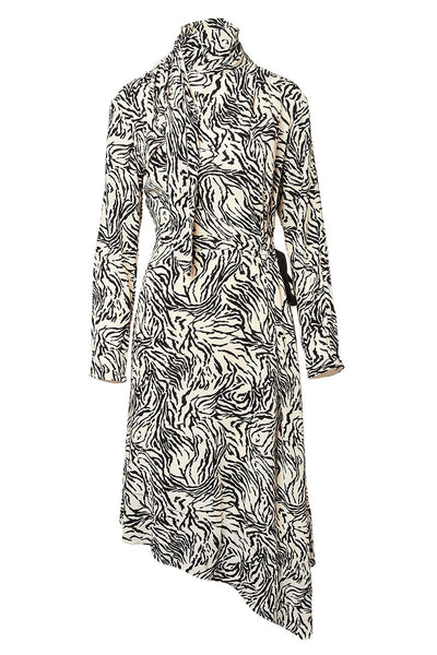 Proenza Schouler, Zebra Scarf Dress