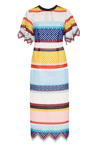 Carolina Herrera, Colorblock Dress