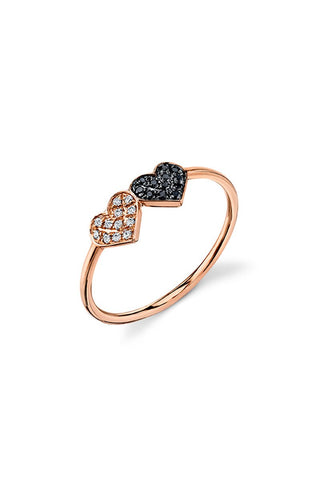 Sydney Evan, Double Heart Ring