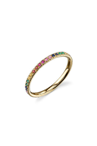 Sydney Evan, Rainbow Eternity Ring