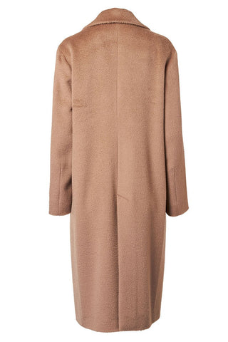 Zibeline Long Camel Coat