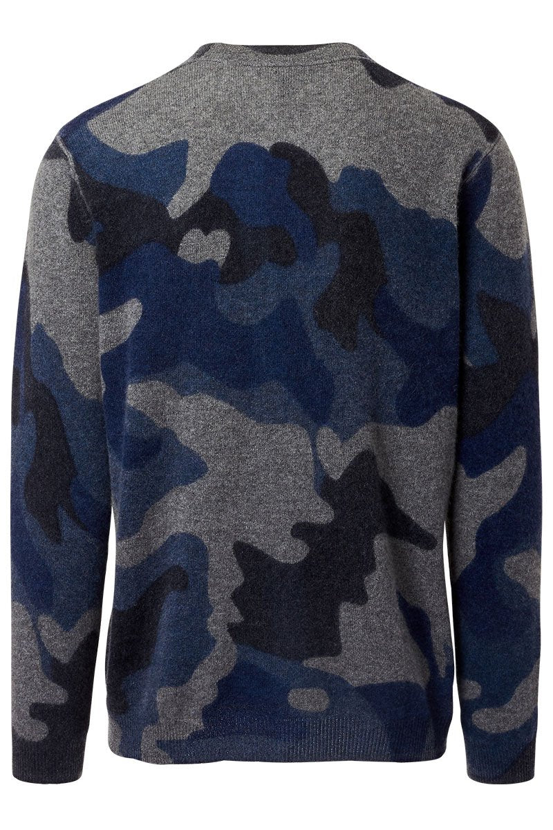 Autumn Cashmere, Camo Inked Sweater