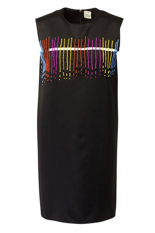, Beaded Shift Dress