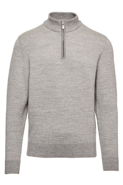 1/4 Zip Mock Sweater