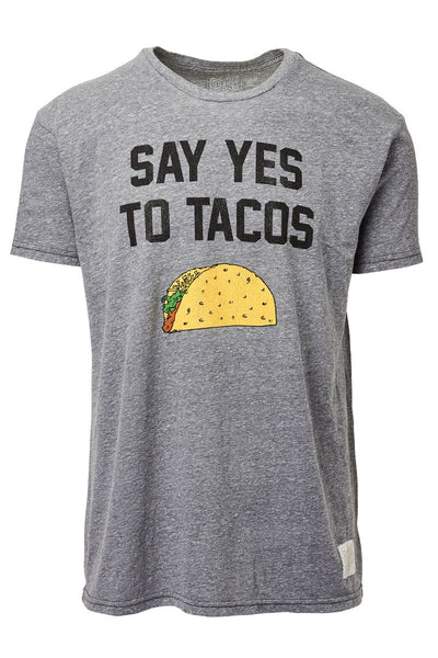 Retro Brand, Say Yes To Tacos Tee