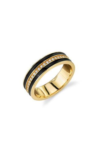 Sydney Evan, Black & Gold Ring