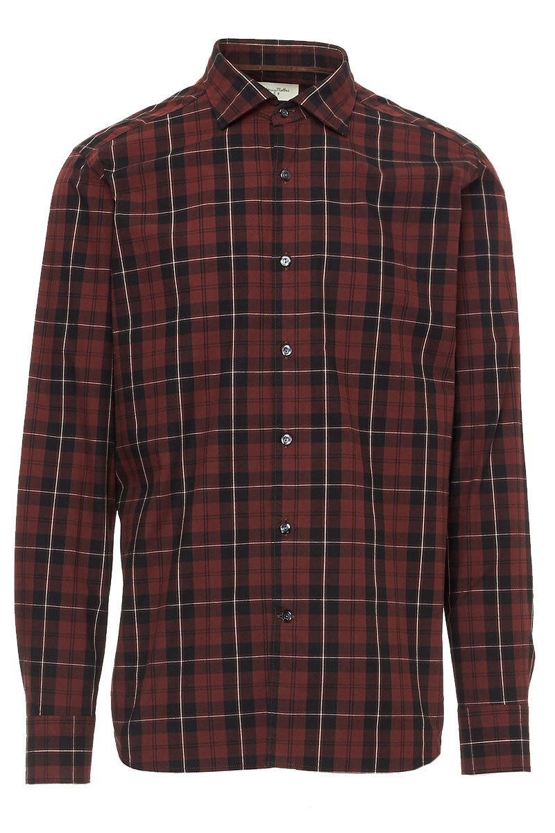 Brick Plaid Sportshirt