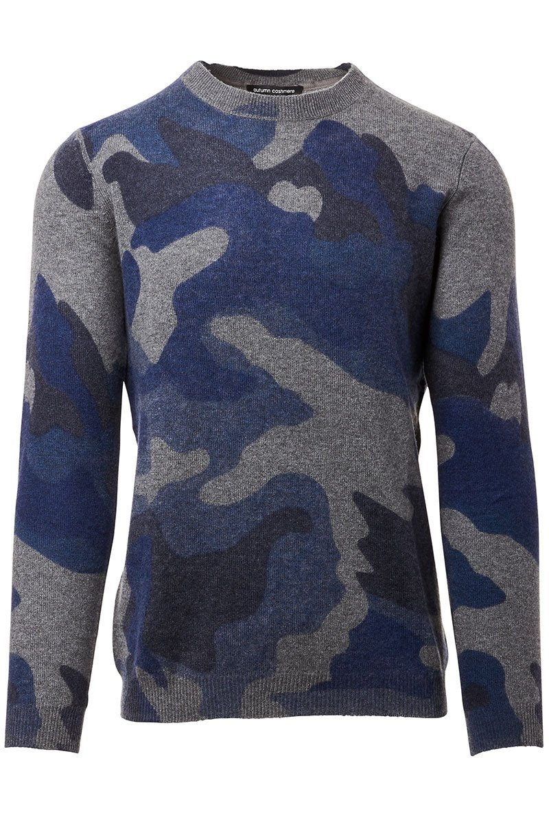 Camo Inked Sweater