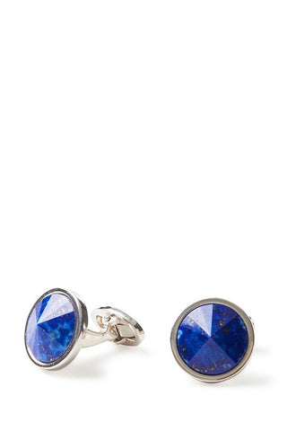 Jan Leslie, Blue Lapis Sphere Cufflinks