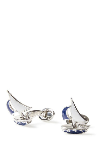 Jan Leslie, Sailboat Cufflinks