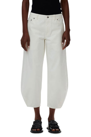 White Denim Sculpted Pant