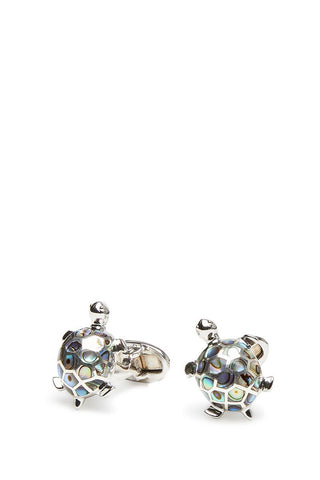 Jan Leslie, Gemstone Turtle Cufflinks