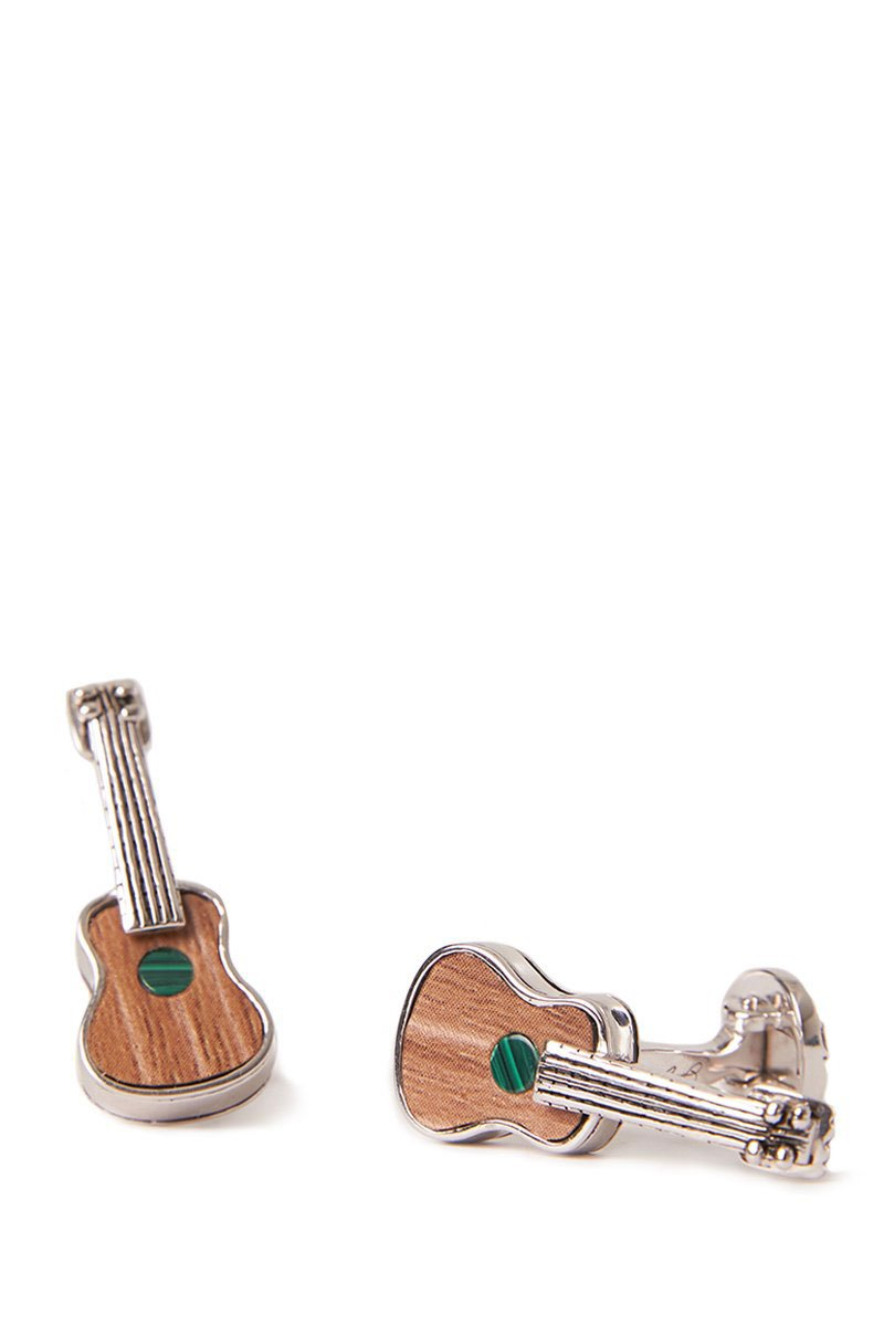 Jan Leslie, Sterling Silver Guitar Cufflinks
