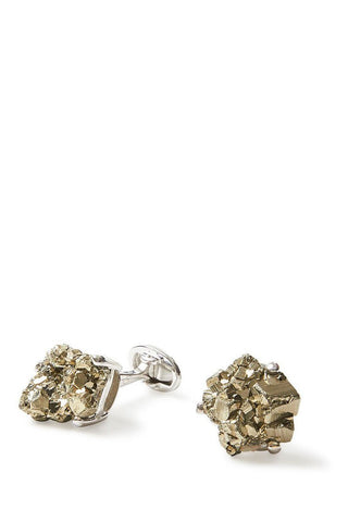 Jan Leslie, Pyrite Meteor Cufflinks