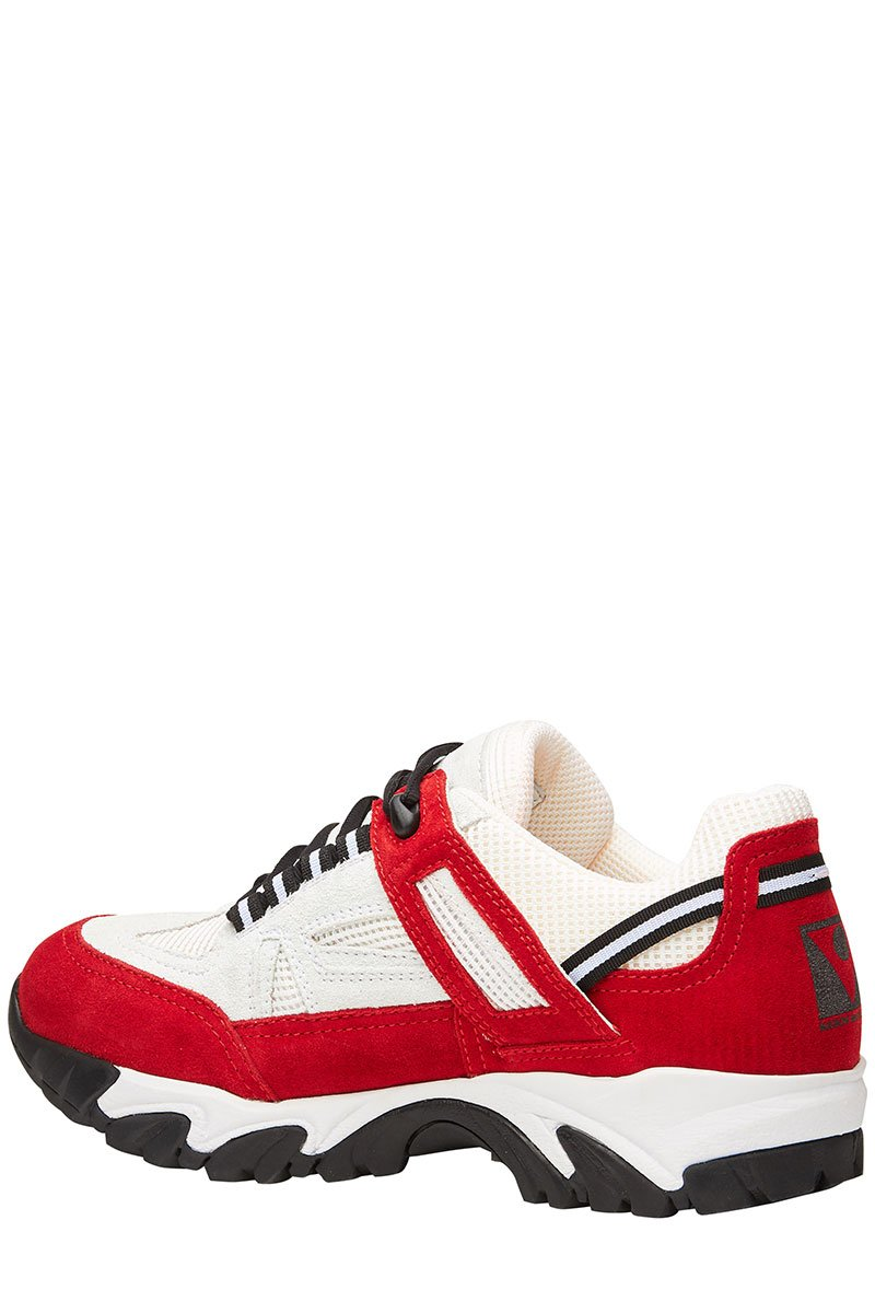 , Two-Tone Security Sneakers