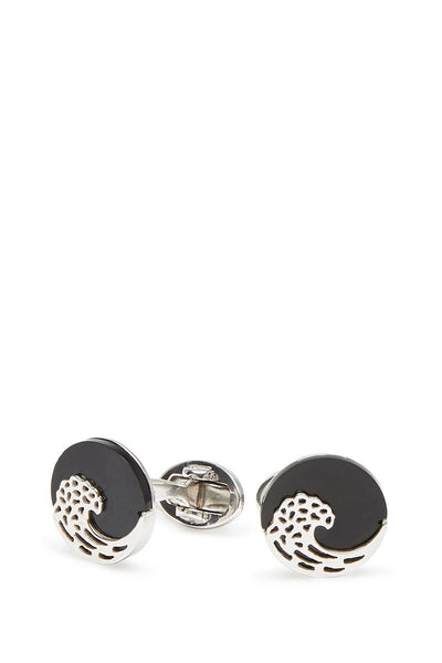 Jan Leslie, Black Wave Cufflinks