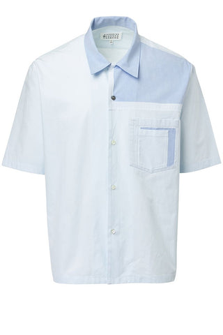 Maison Margiela, Patched Short Sleeve Sportshirt